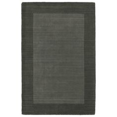 Found it at Wayfair - Regency Solid Charcoal Area Rug