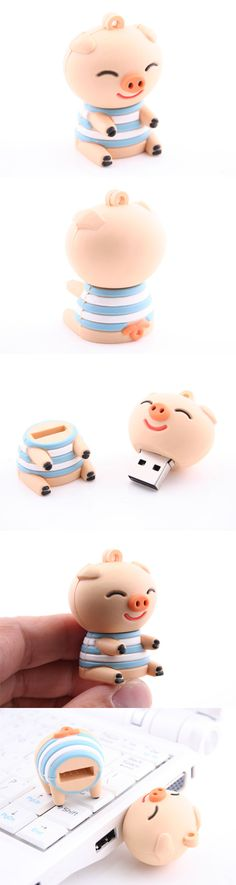 Sweet Piggy USB Flash Drive http://www.usbgeek.com/products/sweet-piggy-usb-flash-drive