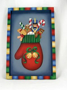 A Stroke of Jeanne-ius  - Christmas Mitten Plaque Pattern Packet, $8.00 (http://www.astrokeofjeanneius.com/christmas-mitten-plaque-pattern-packet/)