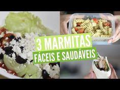 3 Marmitas ❤️ Refeições fáceis e saudáveis #regressoàsaulas - YouTube                                                                                                                                                                                 Mais
