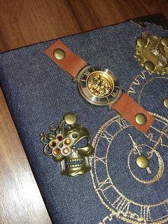 diary, steampunk