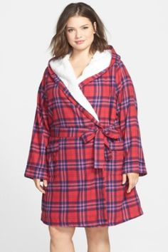 Fleece Lined Flannel Robe (Plus Size). Nordstrom RobesNordstrom RackFlannel  ... 4bd27b89d
