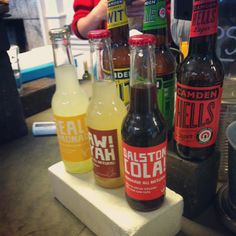 Enjoying some Dalston Cola at the cafe downstairs. Super charged now!
