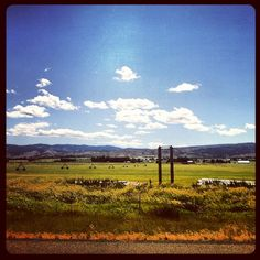 Farm land north of Ellensburg, WA. Photo from the Instacanvas gallery for crindalyn.