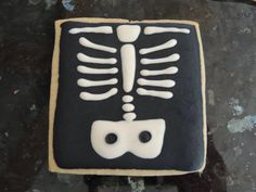 X-Ray Cookies made as a Thank You for Dr.