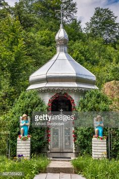 Greek Catholic roadside chapel in village of Sheshory near town... #sheshory: Greek Catholic roadside chapel in village of… #sheshory
