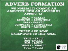 Em inglês é possível transformar muitos adjetivos em adverbios adicionando a partícula LY ao final