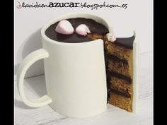 "Tutorial pastel ""taza de chocolate caliente"" http://www.youtube.com/watch?v=mB4vMjUDE2Y"