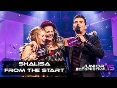 Shalisa | From the Start | Junior Songfestival 2015 - YouTube