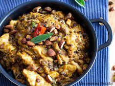 Dahl de lentille aux épices et lait de coco Paella, Voici, Ethnic Recipes, Change, Food, Inspiration, Gluten Free Cooking, Cooking Recipes, Indian Cuisine