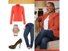 Photo Gallery: Queen Latifah's Style   QueenLatifah.com Find styles that flatter the Inverted Beauty! #invertedtriangle