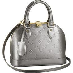 Louis Vuitton Monogram Vernis Alma Bb M91677 Amt