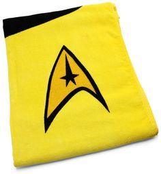 Star Trek Towel, I want a set of these!!!