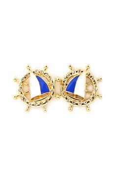 Nautical Sailboat Earrings
