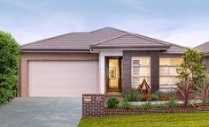 One Bedroom Flat Exterior Design - Rumah Terkini Home Builders Melbourne, Best Home Builders, Melbourne House, Custom Home Builders, Brick House Plans, Entryway Paint Colors, One Bedroom Flat, Looking For Houses, Wood Exterior Door
