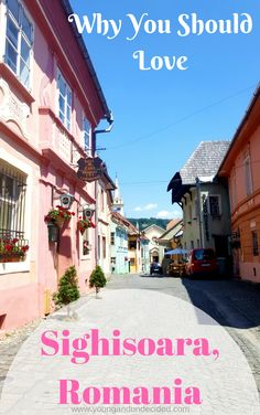Sighisoara, Romania is a beautifully colourful historic town in the Transylvanian region of Romania (and birthplace of Vlad the Impaler - the inspiration for Dracula). Here are my reasons why you will absolutely love it