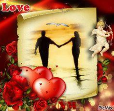 Hófehér  galamb szeretnék lenni , Egy szép pillanatban hozzád repülni .... Love You Gif, Just Love, Valentines Day Hearts, Valentine Day Love, Love Images, Love Pictures, Lolo Love, Me Against The World, Tinkerbell Disney