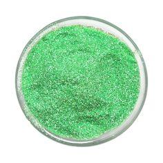 Purpurina Cristal Fluorescente Verde
