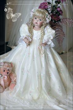 Диво-Дивное от Линды Рик! Очень редкая, не пропустите! / Фарфоровые куклы / Шопик. Продать купить куклу / Бэйбики. Куклы фото. Одежда для кукол