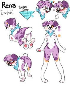 Rena ref by Iyd on DeviantArt