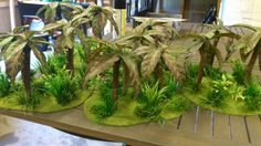 It's a jungle out there. - Covering Fire revisits his jungle terrain - Page 2 40k Terrain, Game Terrain, Wargaming Terrain, Hobbies For Couples, Great Hobbies, Pokemon Terrarium, Miniature Trees, Warhammer Fantasy, Decoration