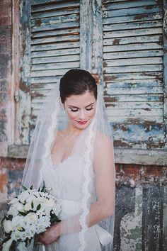 If you love New Orleans style & architecture -- you'll love this wedding! See it here: http://www.StyleMePretty.com/2014/05/23/classic-new-orleans-wedding-at-race-and-religious/ Photography: MaileLaniPhotography.com