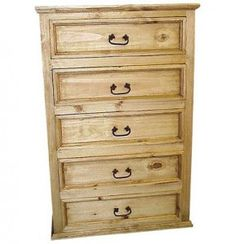 Woodworking Plans - Hardwood 5-drawer Dresser