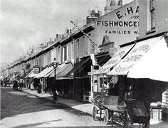 Archive photograph of shops in George Street, Hove Brighton Rock, Brighton Sussex, Brighton And Hove, East Sussex, Old Images, Old Photos, Happy St George's Day, Images Of England, St Georges Day