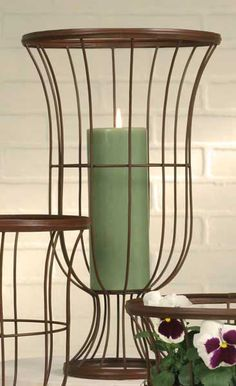 Wire Garden Urn - Primitive Rust : Creative Wellspring @ Home, Inspiration + Imagination - $33.95