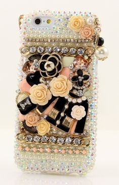 Bling Crystals Phone Case for iPhone 6 / 6s, iPhone 6 / 6s PLUS - CAMELLIA DESIGN