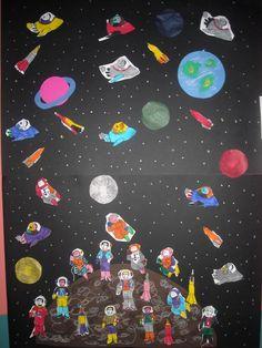 1ο Νηπιαγωγείο Ηρακλείου Αττικής: Πλανήτες - Ηλιακό σύστημα - Γη Σελήνη Creation Preschool Craft, Preschool Crafts, Crafts For Kids, Planets, Craft Ideas, Space, Educational Activities, Blue Prints, Manualidades