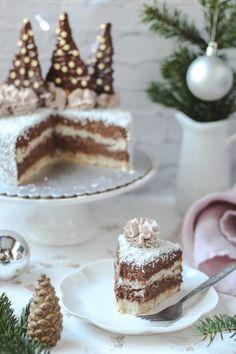 Torte Recepti, Torte Cake, No Bake Cake, Tiramisu, Cake Recipes, Cheesecake, Easy Meals, Cooking Recipes, Sweets
