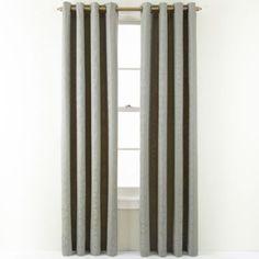 Royal Velvet® Georgina Grommet-Top Curtain Panel  found at @JCPenney