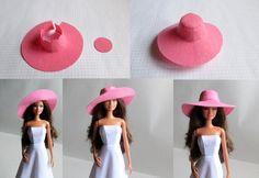 Шьём одежду для Барби Sewing Barbie Clothes, Barbie Sewing Patterns, Barbie Dolls Diy, Barbie Doll House, Barbie Dress, Doll Clothes Patterns, Diy Doll, Doll Patterns, Clothing Patterns