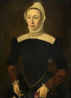 Portrait of a Lady  by Pieter Pourbus the younger