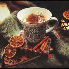 fall tea | Rustic autumn Tea