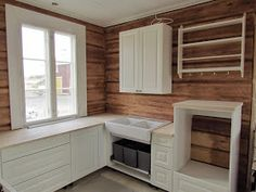 Country Farmhouse, Kitchen Cabinets, Cottage, Living Room, Wood, Design, Home Decor, Inspiration, Houses