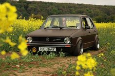 Seriously Cool Mk1 Golf
