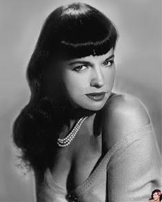 I want to be Bettie when I grow up!  Bettie Page...♥