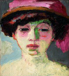 Van Dongen : Le chapeau rose
