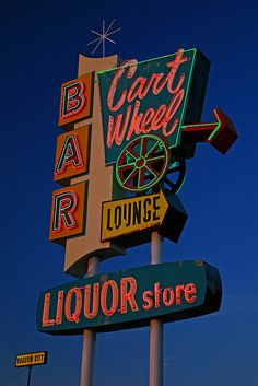 Cart Wheel Lounge - Great Falls, MT by my new clever name, via Flickr