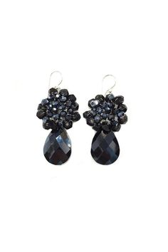 Handcrafted earrings with Czech crystals   Crystal Drop Earrings  by Ananda. Accessories - Jewelry - Earrings Chicago, Illinois