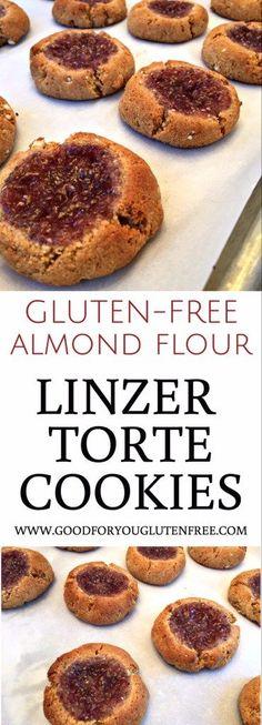 Gluten-Free Almond Flour Linzer Torte Cookies - Good For You Gluten Free
