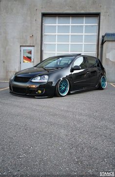 Vw Golf , perfect color match.