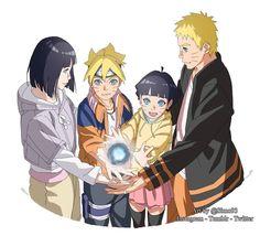 Naruhina, Naruto Uzumaki Shippuden, Naruto Sasuke Sakura, Naruto Cute, Naruto Girls, Funny Naruto Memes, Hinata Hyuga, Uzumaki Family, Naruto Family