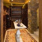 Bridger Canyon Residence - Rustic - Wine Cellar - other metro - by Locati Architects