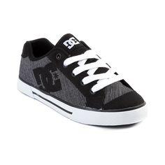 dc shoes for women | Womens DC Chelsea Skate Shoe, Black White | Journeys Shoes