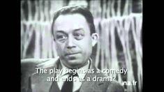 Last interview of Albert Camus on french television. Nobel Prize laureate, Albert Camus was a French Algerian philosopher. Albert Camus speaks about his last. Albert Camus, Nobel Prize, Einstein, Comedy, Novels, Drama, Politics, Meme, Songs