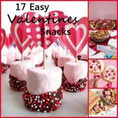 17 Easy Valentines Snacks