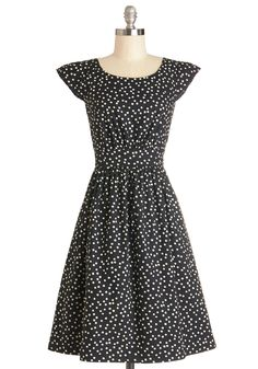 Get What You Dessert Dress in Dots, #ModCloth #bought #cybermondaysale